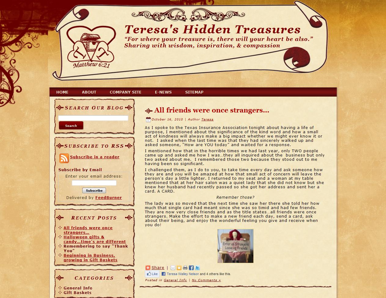 Teresa's Hidden Treasures