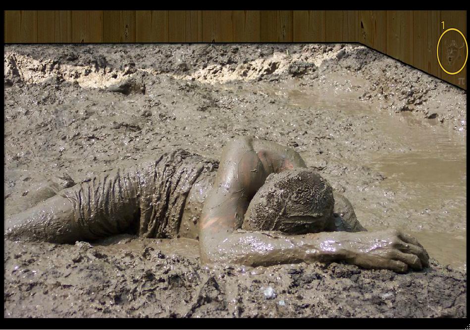 Mud Pit Scene
